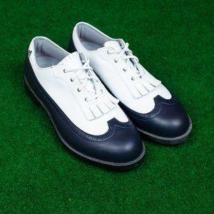 NWOB Vintage adidas Golf Shoes w/ Mini Kilties